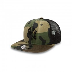 CASQUETTE TRUCKER NEW ERA WASHED CAMO 9FIFTY NEW YORK YANKEES / CAMO