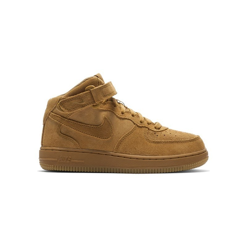 NIKE FORCE 1 MID LV8 (PS) / OCRE