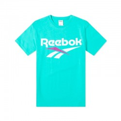 T-SHIRT REEBOK CLASSIC VECTOR / TURQUOISE