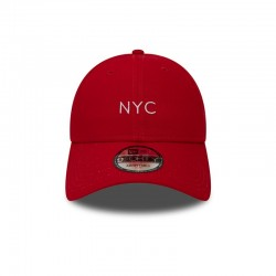 CASQUETTE NEW ERA NYC SEASONAL 9FORTY / ROUGE