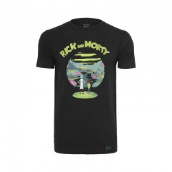 T-SHIRT RICK & MORTY LOGO / NOIR