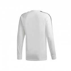 T-SHIRT MANCHES LONGUES ADIDAS 3-STRIPES / BLANC