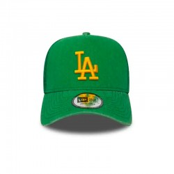 CASQUETTE TRUCKER NEW ERA WASHED MLB LOS ANGELES DODGERS / VERT