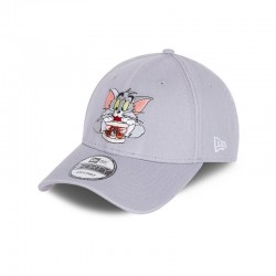 CASQUETTE NEW ERA TOM AND JERRY 9FORTY / GRIS