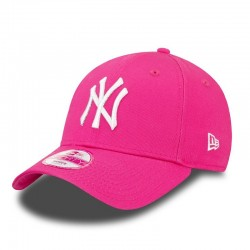 CASQUETTE NEW ERA FASHION ESSENTIAL 940 NY YANKEES / ROSE